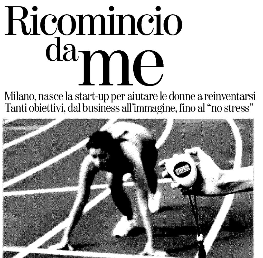 """[themify_icon icon=""""fa-file-pdf-o"""" link=""""http://elisavoila.com/wp-content/uploads/2015/12/La-stampa_23-giugno-2015.pdf"""" style=""""large"""" ]  23 giugno 2015. La Stampa. """"Ricominca da Me: Milano, nasce la start-up per aiutare le donne a reinventarsi; Tanti obiettivi, dall business all'immagine, fino al 'no stress'"""". di Sara Ricotta Voza"""
